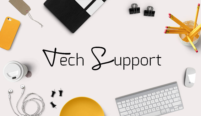 Blog Your Thing - Tech Support