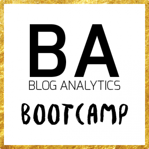 Blog Analytics Bootcamp - Google Analytics für Blogger