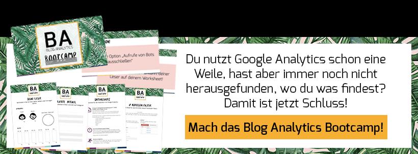 Blog Analytics Bootcamp - Banner