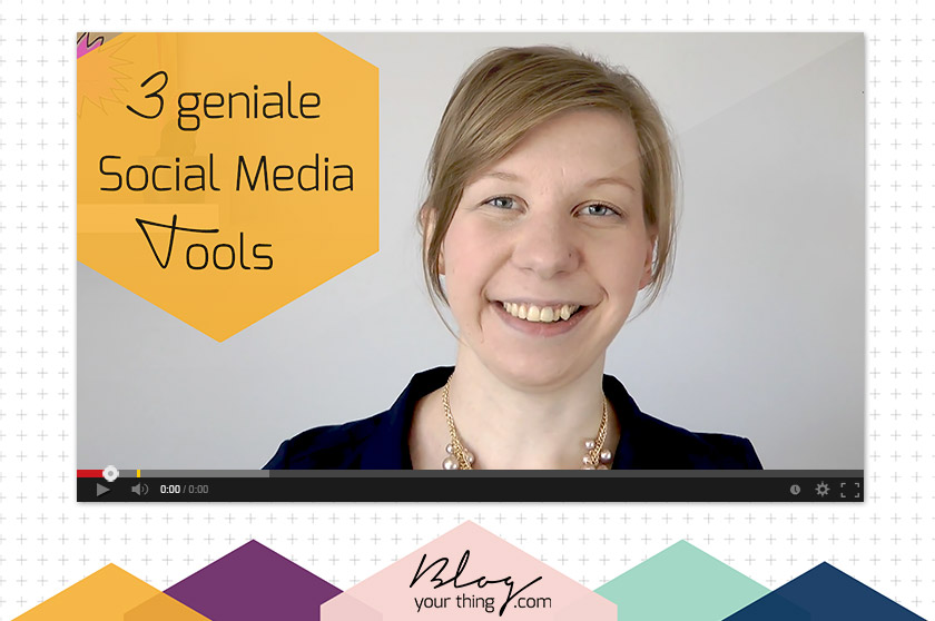 Mini Blog Booster #4: 3 unverzichtbare (gratis) Social Media Planungstools