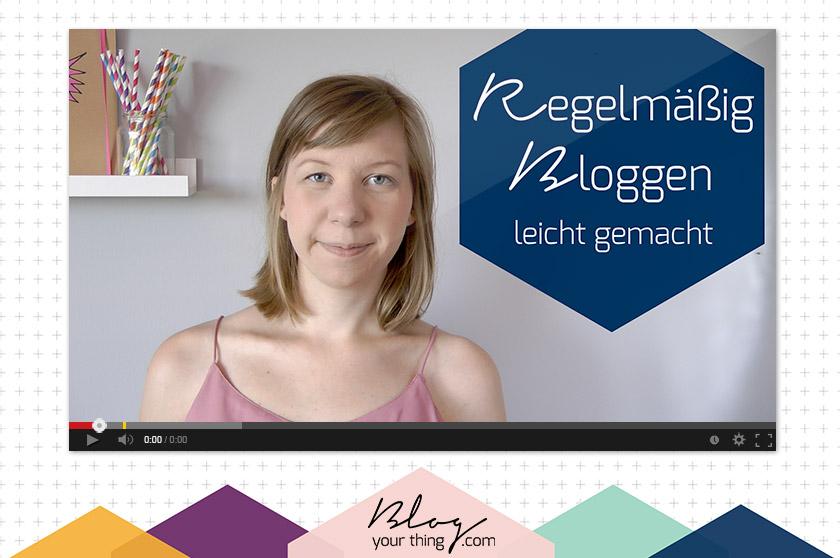 Mini Blog Booster #5 – So schaffst du es, regelmäßig zu bloggen