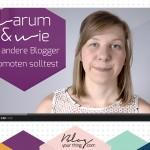 Mini Blog Booster #7 – Warum und wie du andere Blogger promoten solltest
