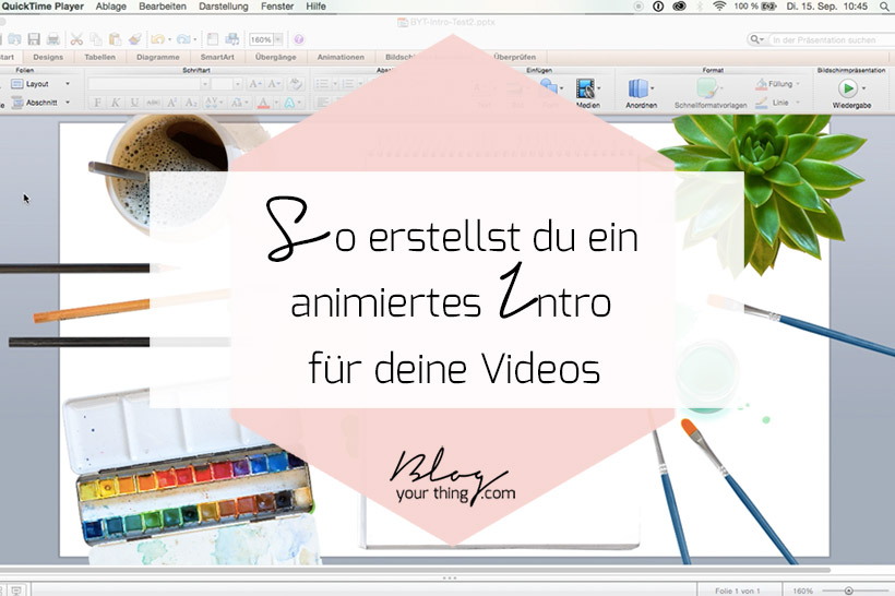 How To: So erstellst du ein animiertes Intro für deine Videos