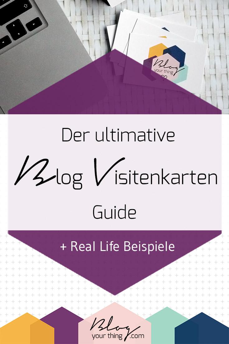Der Ultimative Blog Visitenkarten Guide Real Life