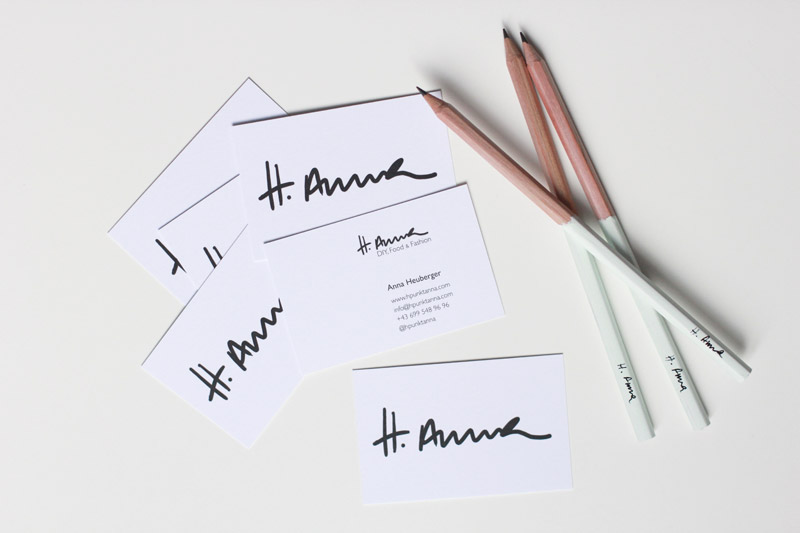 Der ulitmative Blog Visitenkarten Guide: Handschrift