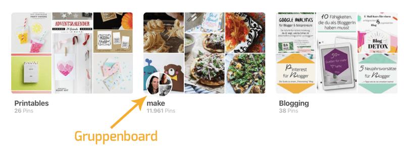 Pinterest für Blogger: So erkennst du ein Gruppenboard