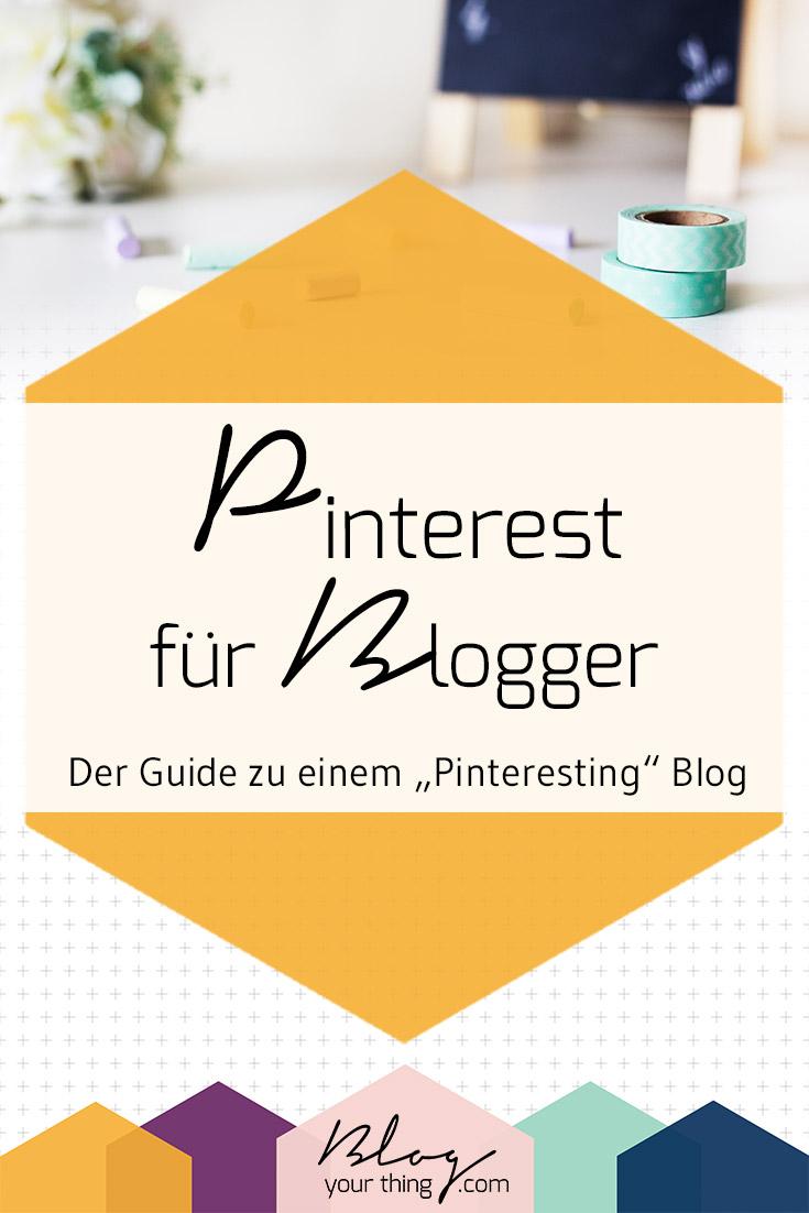 Du möchtest mit Pinterest mehr Leser für deinen Blog bekommen? Klick hier um im großen Pinterest Guide zu lernen, wie du ein Profil und deinen Blog optimieren kannst!