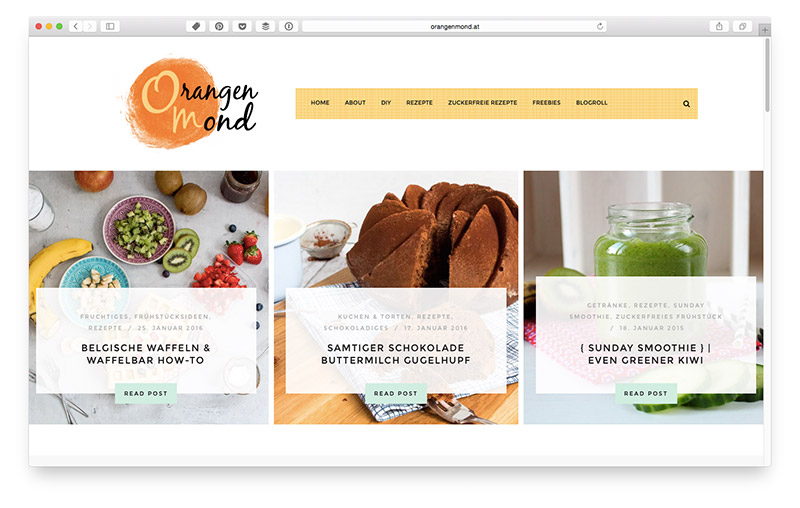 Wordpress Themes für Food & Lifestyle Blogger: Almond