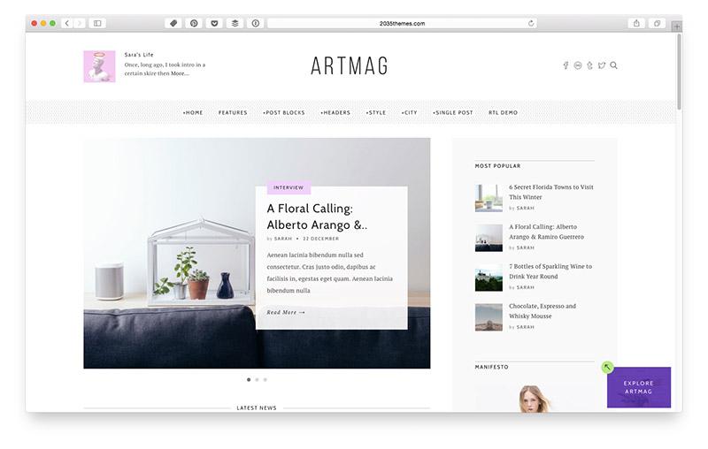 Wordpress Themes für Food & Lifestyle Blogger: