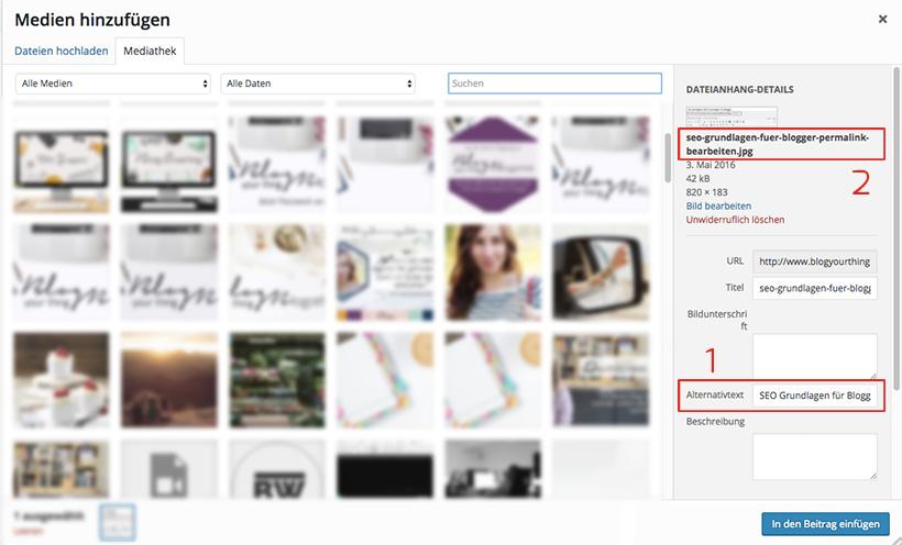 """SEO Grundlagen für Blogger: ALT-Text anpassen - So sorgst du dafür, dass Google deine Bilder """"sehen"""" kann"""