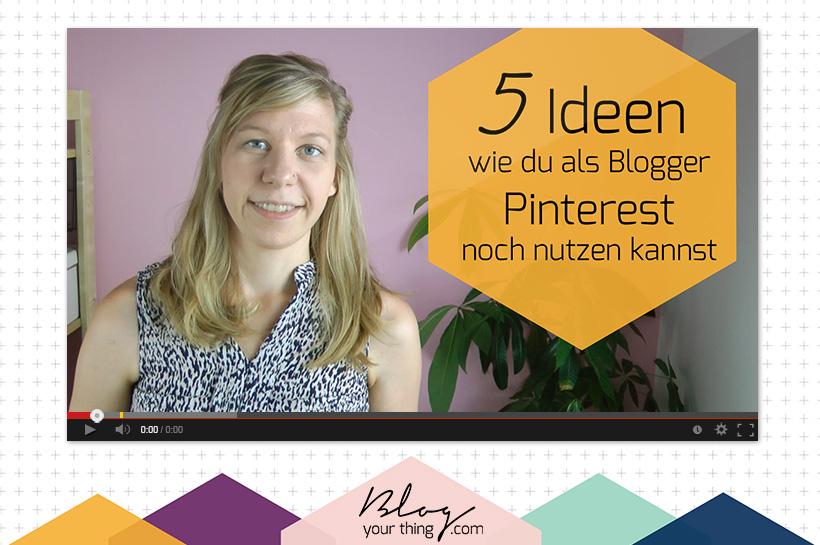 5 ungewöhnliche Ideen, wie du Pinterest als Blogger nutzen kannst