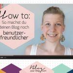 Mini Blog Booster #9 – So machst du deinen Blog noch benutzerfreundlicher