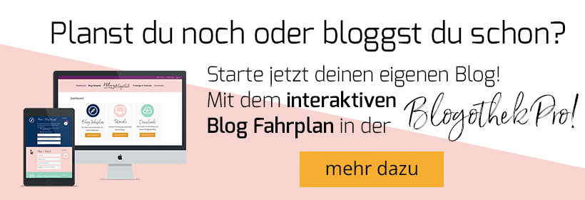 Planst du noch oder bloggst du schon? Starte jetzt deinen eigenen Blog - Blogothek Pro