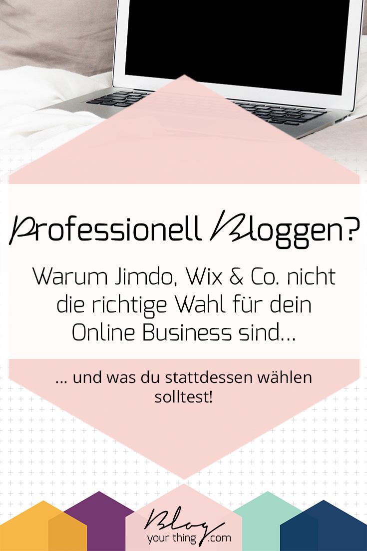 Jimdo, Wix, Squarespace, Blogger oder WordPress? So findest du die richtige Blogging Software für dich!