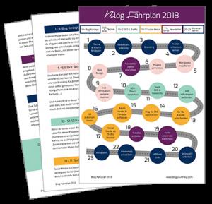 Kostenloser Blog Fahrplan
