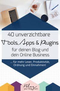 Online Marketing & Blogging Tools für dein Blog Business