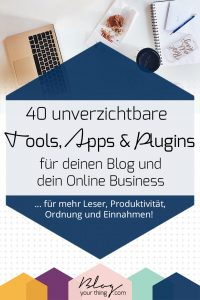 Online Marketing & Blogging Tools für dein Blog Business