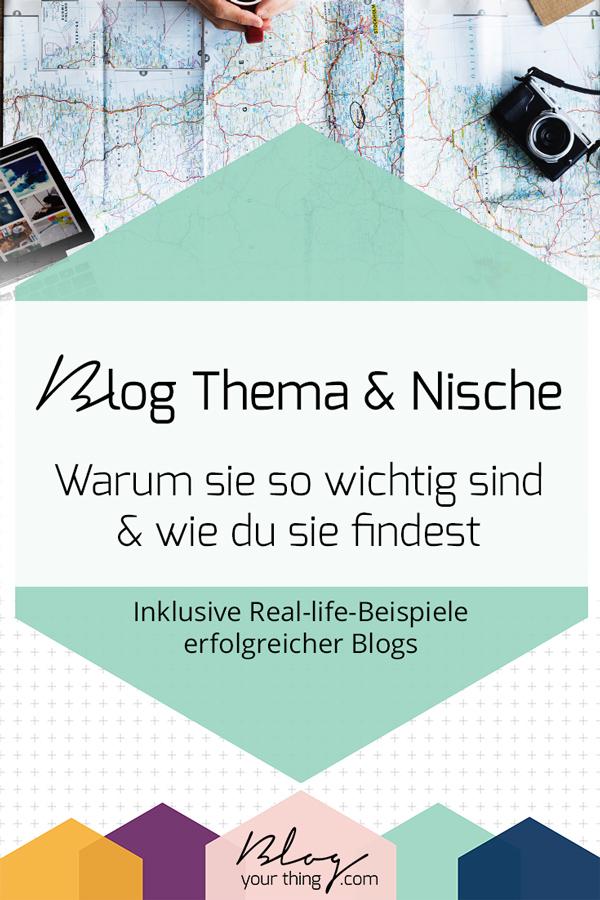 Blog Thema & Blog Nische - Du möchtest wissen warum sie so wichtig sind? Und wie du sie findest? In diesem Blogartikel erkläre ich es dir anhand von Real-life-Beispiele erfolgreicher Blogs