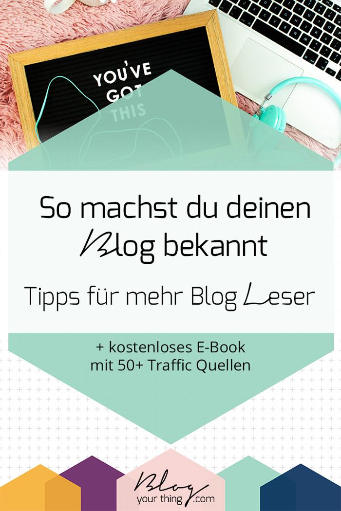 Blog bekannt machen: so findest du (die ersten) Leser für deinen Blog
