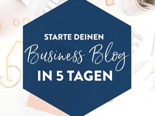 Blog Start Challenge