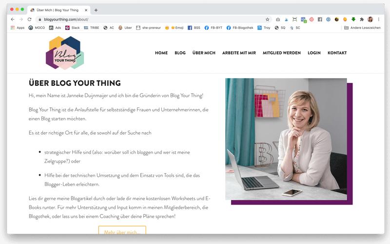 6+1 unverzichtbare Seiten, die jeder Blog zwingend braucht & wie du sie optimierst: Die Über mich - Seite sollte nicht (nur) von dir handeln, sondern deinen Lesern verraten, was sie auf deinem Blog erwartet.