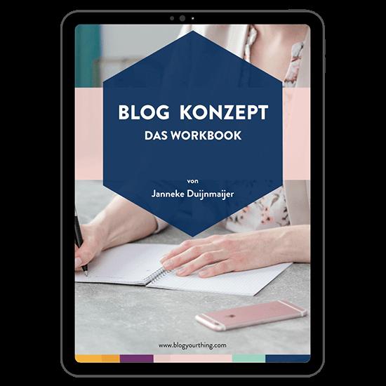 Blog Konzept Workbook