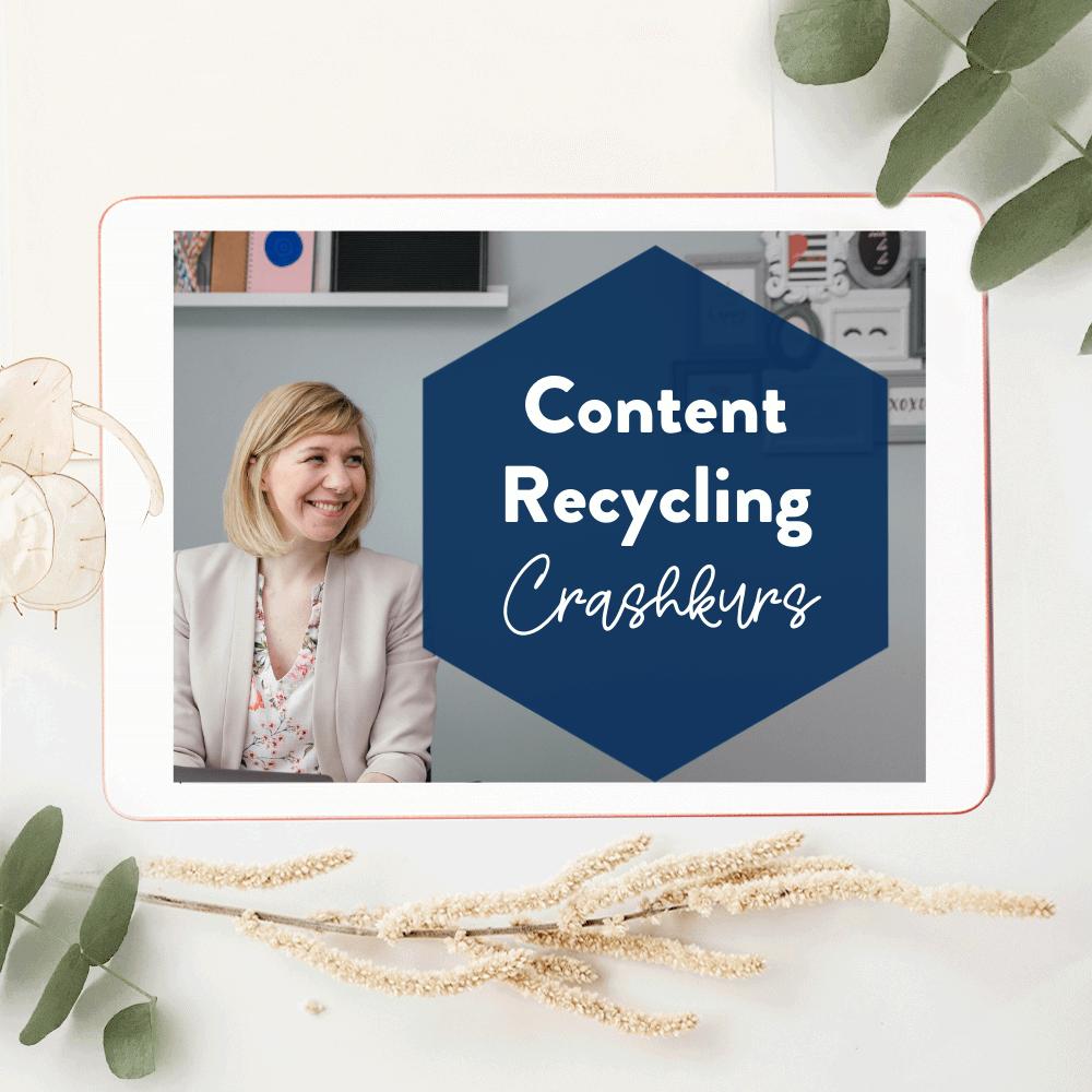 Content Recycling Crashkurs