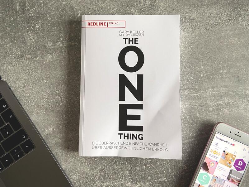 """Buch """"The One Thing"""" von Gary Keller"""