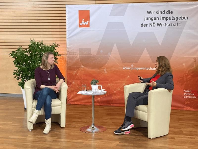 Podcast oder Blog - Vortrag am Jungunternehmertag der Jungen Wirtschaft Niederösterreich
